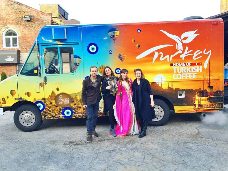 Turkish culture and tourism office launches traditional turkish coffee truck initiative in - Turkish culture and tourism office ...