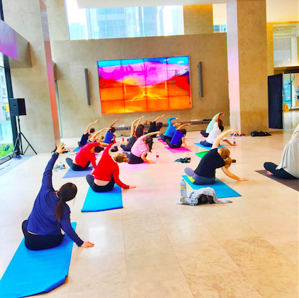 Free Yoga at Richmond-Adelaide Centre