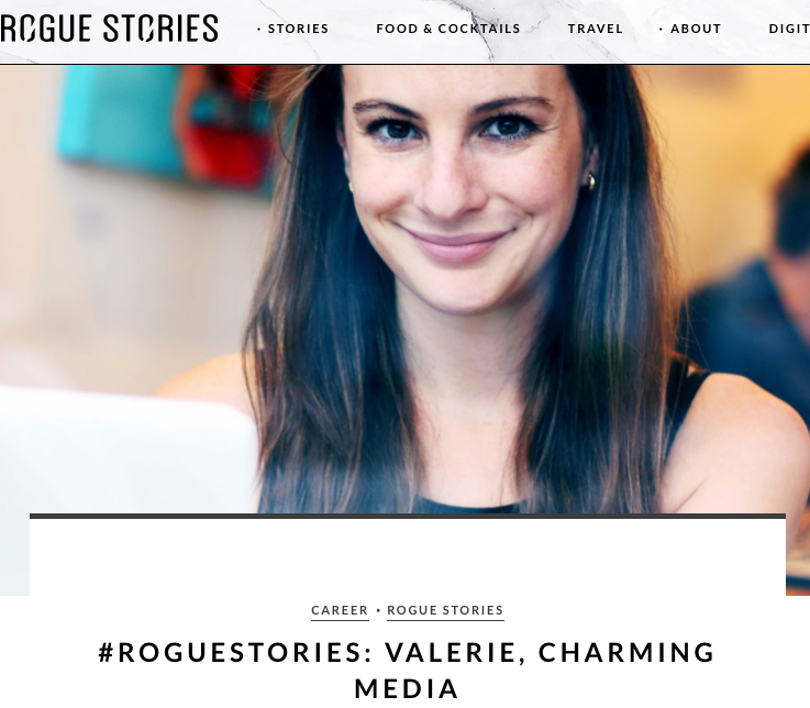 Rogue Stories - Entrepreneur Feature